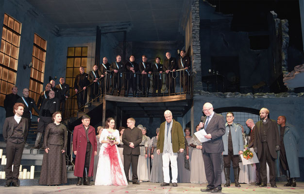 Preisverleihung. Foto: Mitrovic / Theater