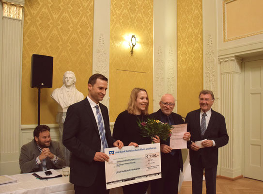Preisverleihung Foto: Mitrovic/DMT