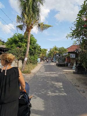 Straße Nusa Lembongan