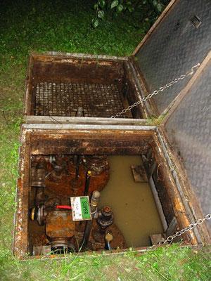 Mit Wasser gefüllte Benzintanks!