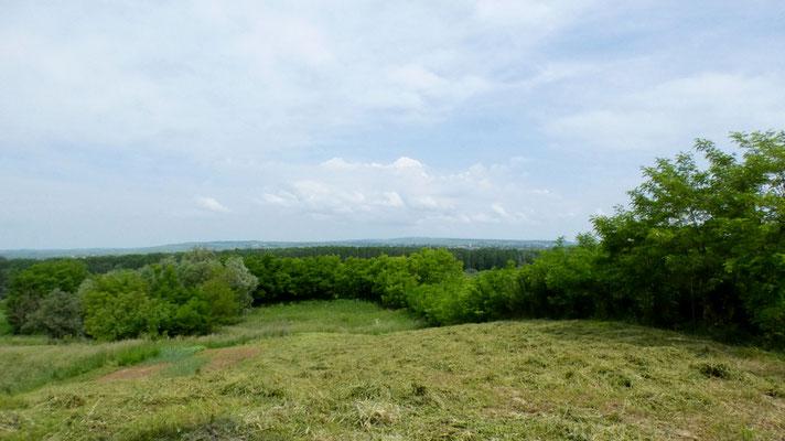 Uno sguardo verso la valle del Prut e l'Ukraina