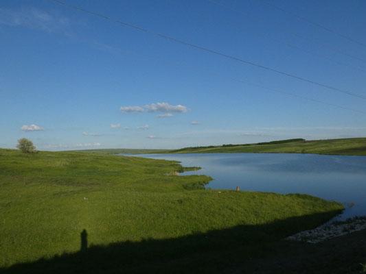 Invaso lacustre nei pressi Havirna