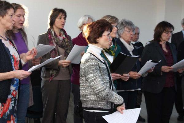 Bei besonderen Anlässen immer dabei: der Chor Veni Canta