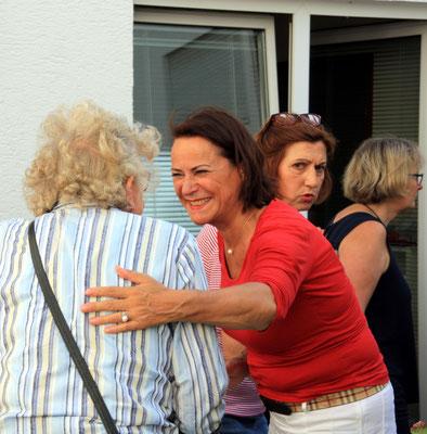 Karin Rosenberg freut sich über das große Interesse