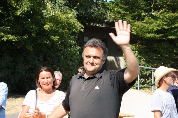Kurosch Balali, Vorstandsmitglied des Förderverein Kunstrasen Röttgen