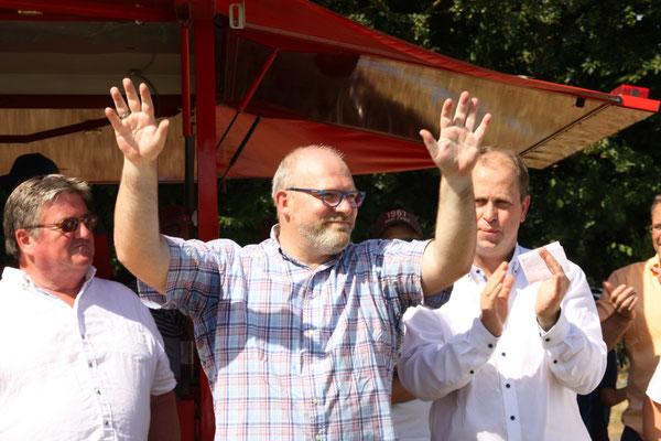 Bernd Marberg, Vorstandsmitglied Förderverein Kunstrasen Röttgen