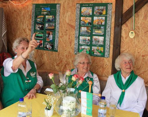 Die Maiköniginnen freuen sich auf jedes ihrer Treffen