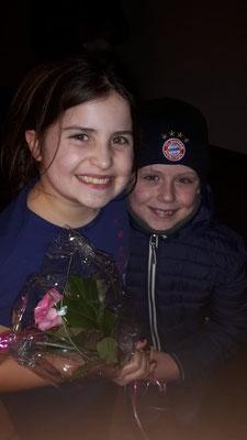 Eine Rose zum Valentinstag von ihrem Prinzen.