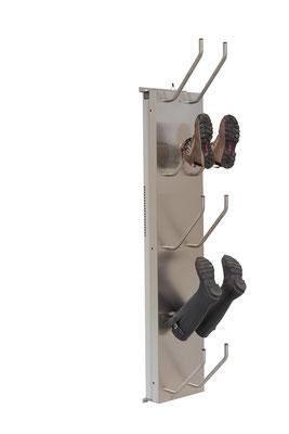 Schuhtrockner für 5 Paar elektrisch beheizt für Gummistiefel