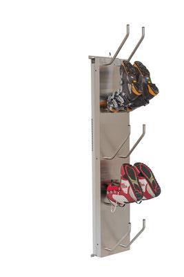Schuhtrockner für 5 Paar elektrisch beheizt für Skischuhe