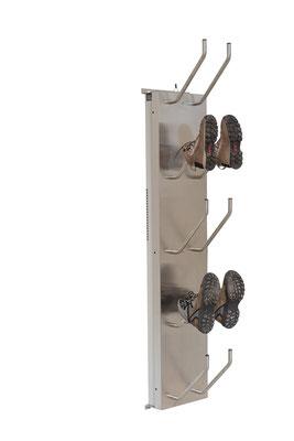 Schuhtrockner für 5 Paar elektrisch beheizt für Arbeitsschuhe
