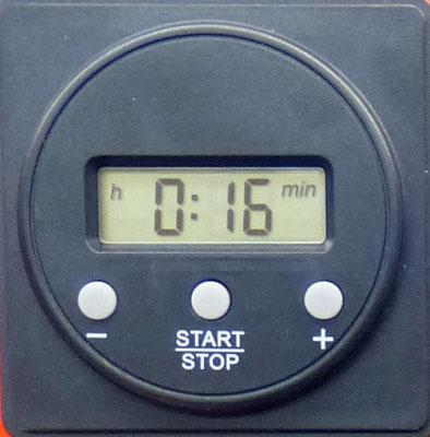 Maskentrockenschrank Digitale Zeitschaltuhr