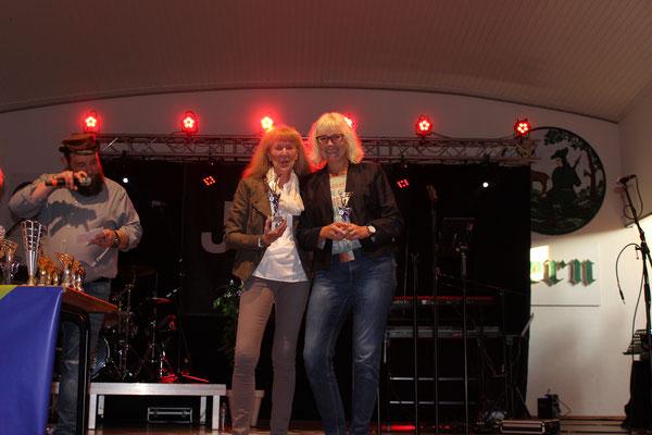Vorrunden Beste: Christina Neuhaus-Scheffer, Heike Schneider, Manuela Dernovsek