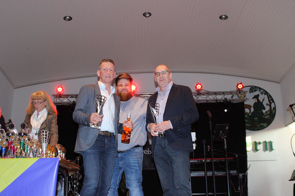 Sieger Senioren: Jodo Kaiser, Klaus Busche, Wolfgang Scheffer