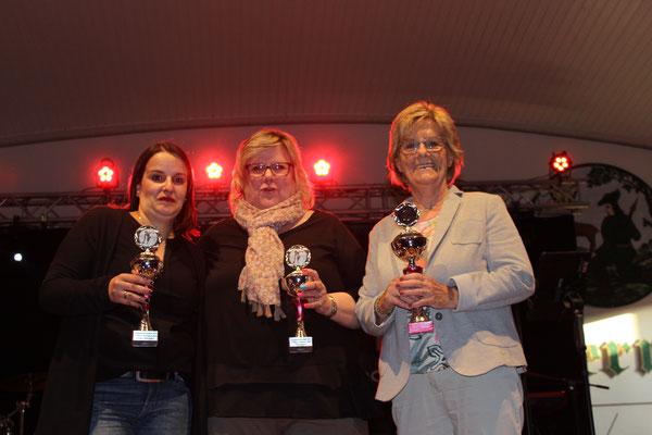 Sieger Damenclubs: Ü 60, Teppichklopfer, Neustart