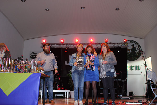 Sieger Seniorinnen: Monika Babilon, Monika Finke-Vormweg, Sylvia Gerke