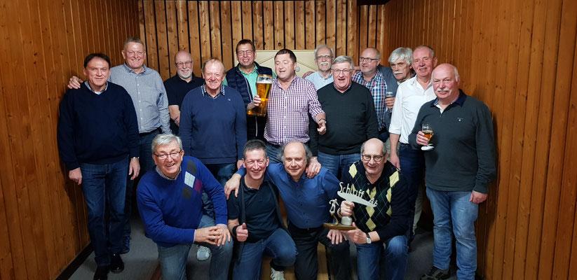Pokalfinale 2018 Blaue Jungs : Schlaff Ab