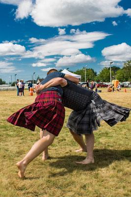 Scottish Back Hold Wrestling