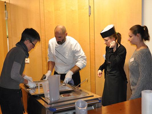 Wie auch schon in den vergangenen Jahren stellte Gerhofer Catering die Menüs für über 500 Gäste.