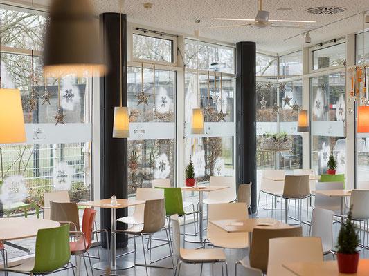 Das Café Gerfi ist modern und mit sehr viel Liebe zum Detail eingerichtet.