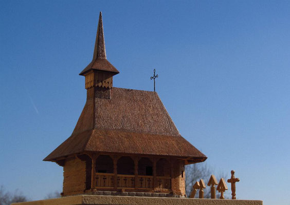 Small wooden church, North Romania.