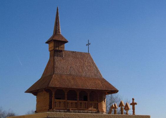 Small wooden church, North Romania.