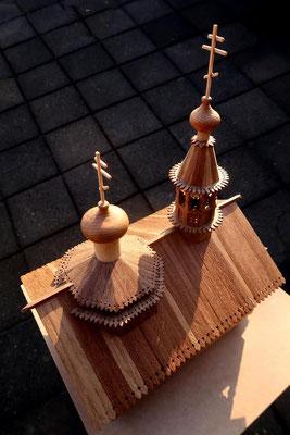 Russian wooden church.