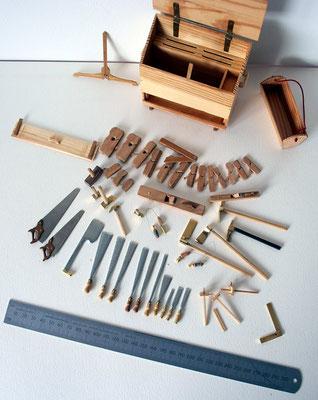 Molenmakers gereedschap 1 : 10