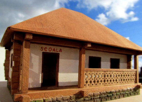 Village school Romania