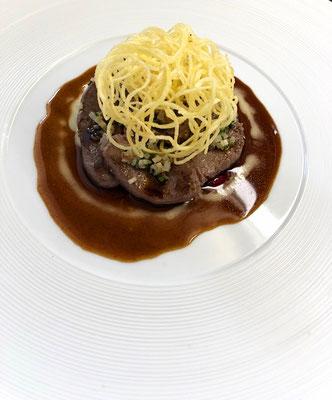 La Promenade Maison Dallais - Restaurant gastronomique en Touraine - 1 Étoile Michelin - Recette signature de Fabrice Dallais au Petit-Pressigny
