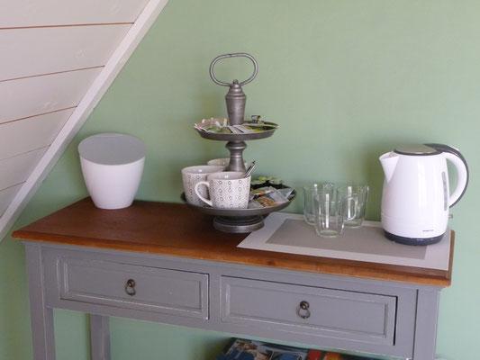 B&B Opperbest, koffie en thee zetten