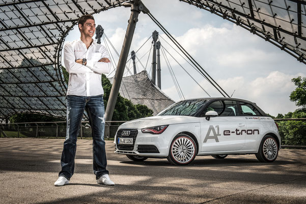Edo Mortara for Audi