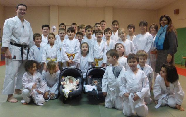 Le cours Karate enfants