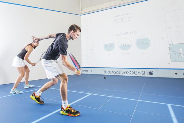 interactiveSQUASH Trainings Court