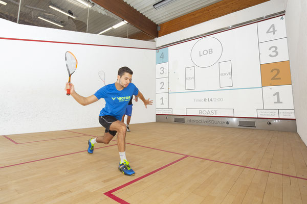 interactiveSQUASH Trainings Court