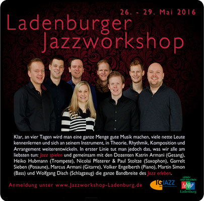 Der Ladenburger Jazzworkshop 2018