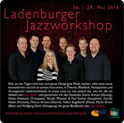 Der Ladenburger Jazzworkshop 2018