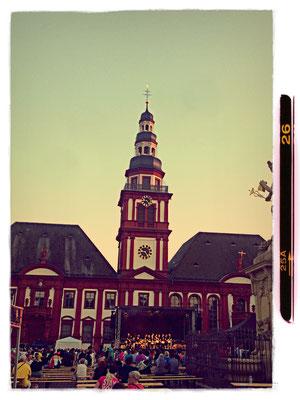 "Marktplatz Mannheim Ellington´s ""Sacred concert"""