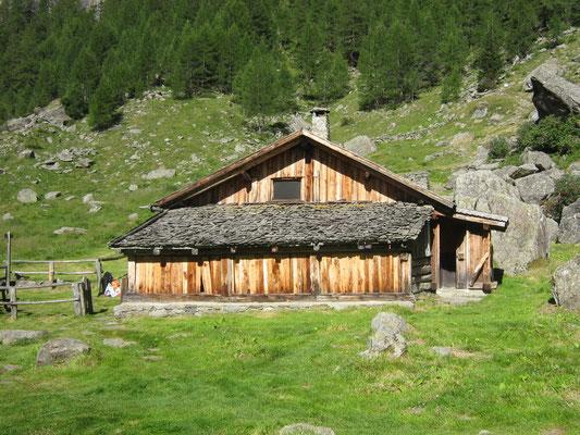 Malga al Prà di Saent, Abete Rosso, Val di Rabbi, Foto: A. Cicolini