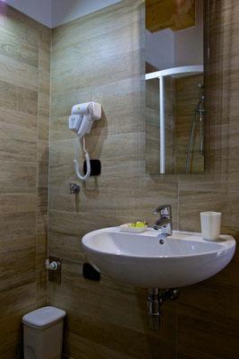 Bagno, Suite attico, Abete Rosso, Val di Rabbi, Foto: M. Corradini