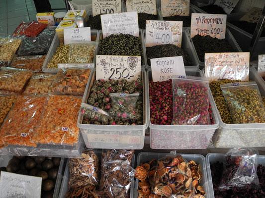 Trockenblumen für Tee