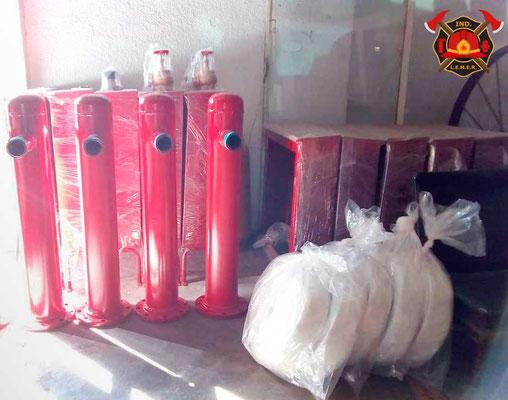Mangueras contra incendio e hidrantes para mangueras