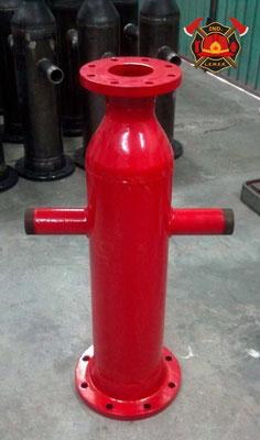 Hidrante contra incendio para monitores y mangueras