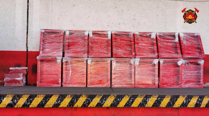 Gabinetes para hidrantes contra incendio