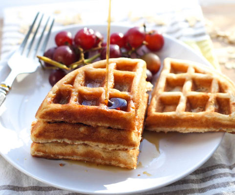 freezer-friendly oatmeal waffle recipe