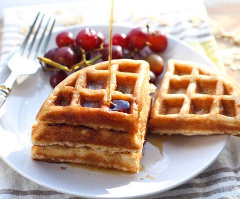 freezer-friendly oatmeal waffle recipe