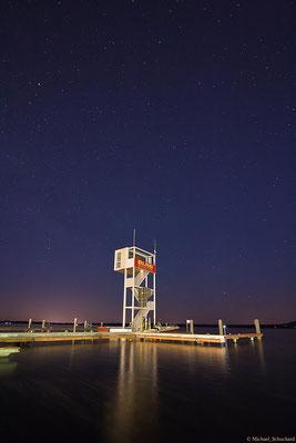 Der Turm mit dem Sternenhimmel