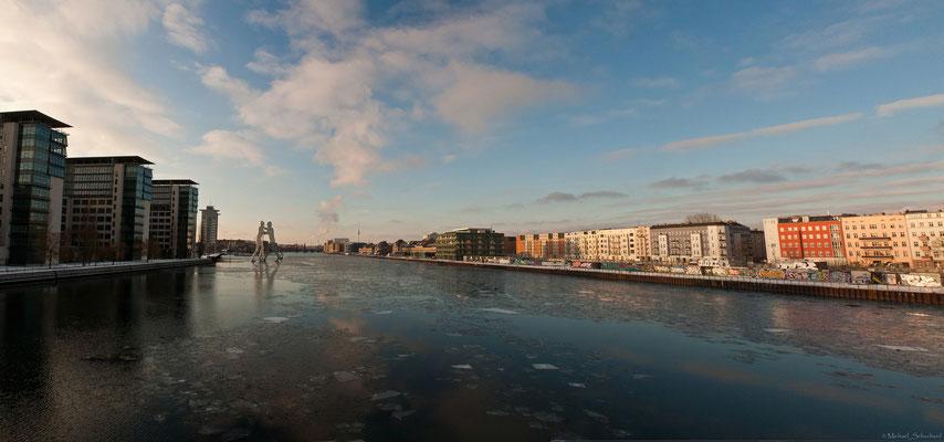 Osthafen von der Elsenbrücke