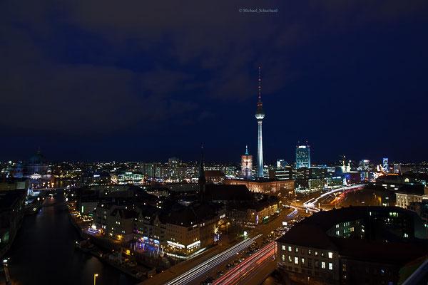 Blick auf die Berliner City