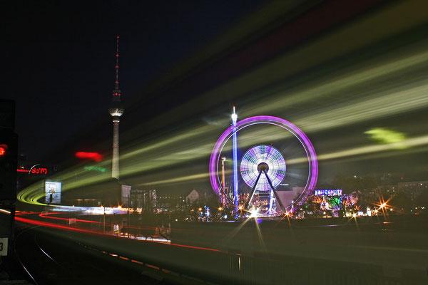 Weihnachtsrummel zwischen Alexanderplatz und Jannowitzbrücke